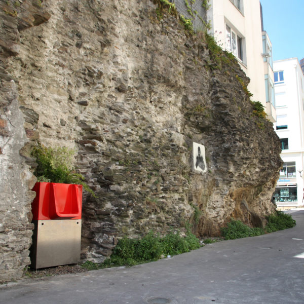 Uritrottoir Pinte - Rue Duvoisin - Nantes - France